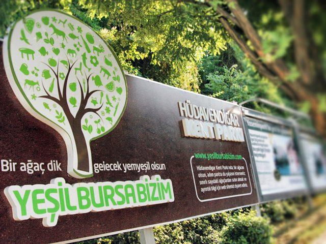 Hüdavendigar Kent Parkı Ağaç Sahiplendirme Projesi